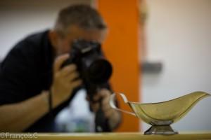 Enfin, un photographe à l'œuvre