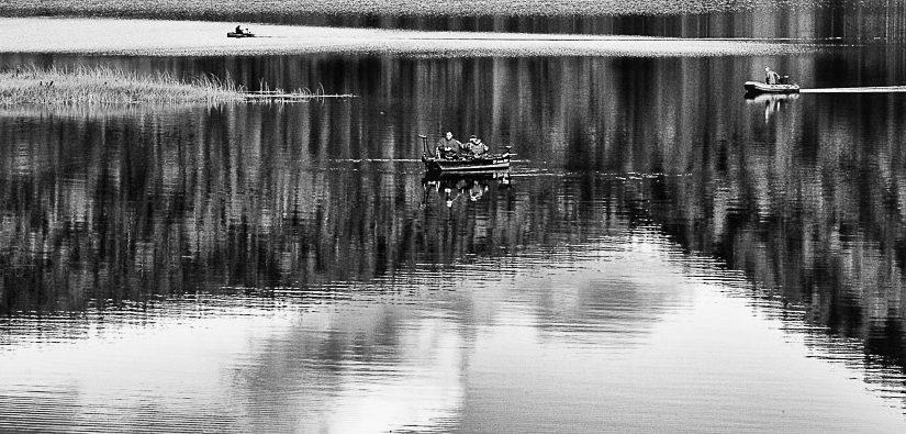 Entre flaques et lac… Quand le monde d'avant s'est brutalement arrêté !